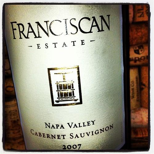 2007 Franciscan Estate Napa Valley Cabernet Sauvignon  #delectable #wine