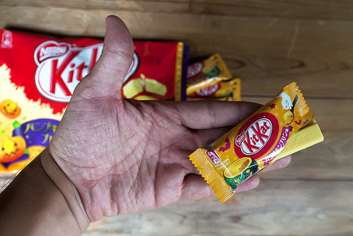 Pumpkin pudding KitKat