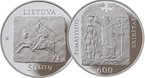 Lithuania 50 litu 2013