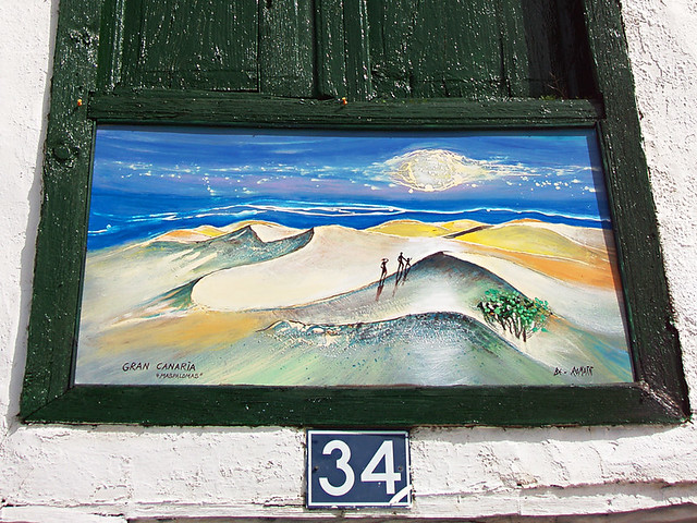 Gran Canaria Painting, Santiago del Teide, Tenerife
