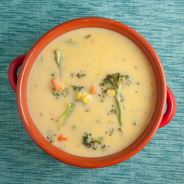 Creamy Cheesy Broccoli SoupIMG_7844