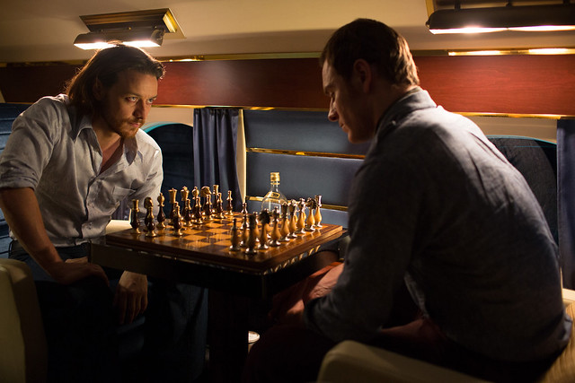 james mcavoy and michael fassbender in XMENDAYSOFFUTUREPAST