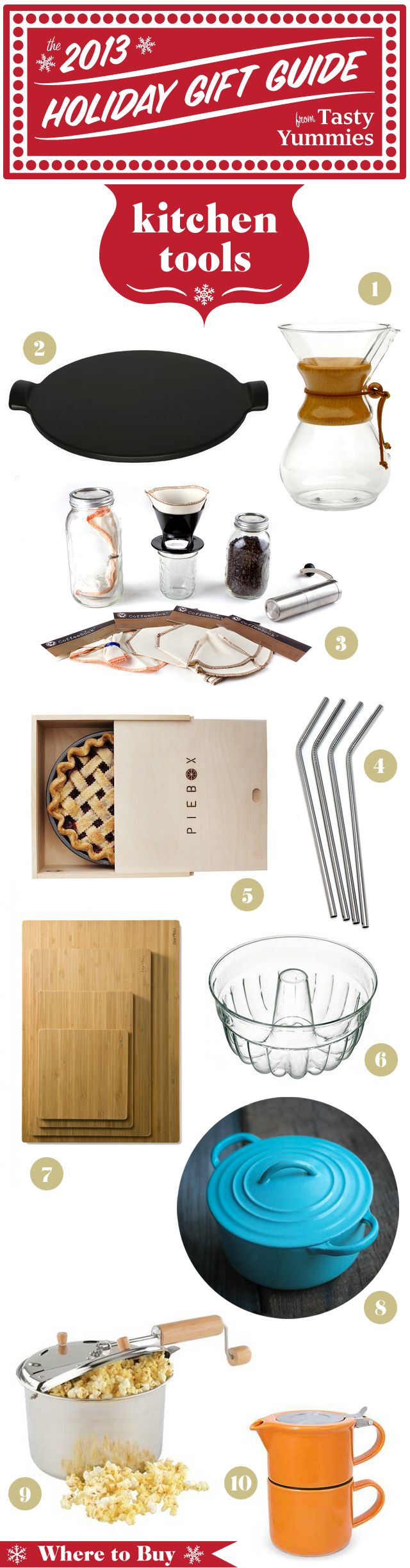 Tasty Yummies Holiday Gift Guide: Kitchen Tools