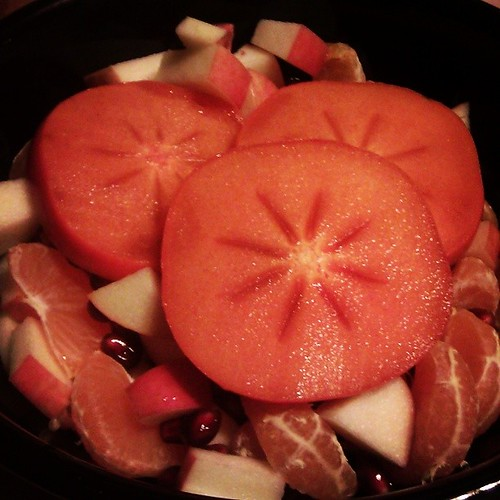 Solstice fruit salad. #Solstice #holiday #home