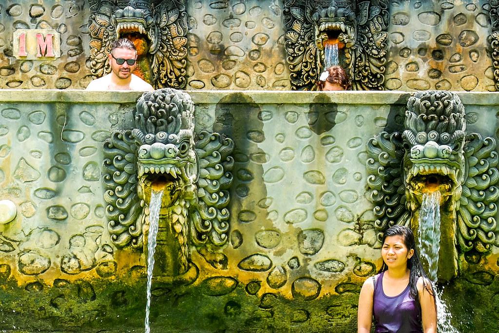 Holy Hot Springs van Banjar