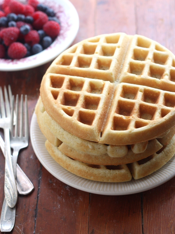 Best Buttermilk Waffles - Completely Delicious