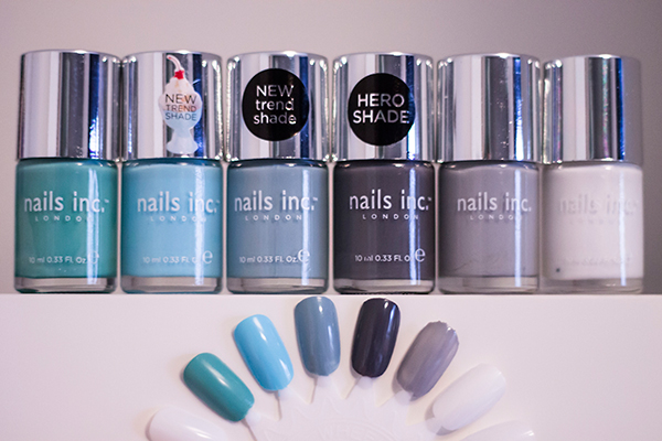 Nails Inc Haymarket, Nails Inc Chelsea Physic Garden, Nails Inc Sheraton Street, Nails Inc The Thames, Nails Inc The Southbank, Nails Inc Floral Street