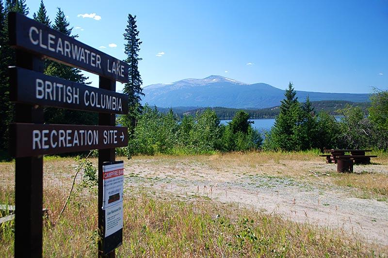 Clearwater Lake Recreation Site, Kleena Kleene, Chilcotin, British Columbia