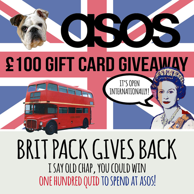 Brit Pack Giveaway - January 2014
