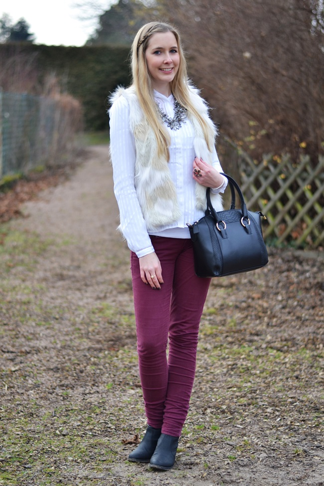 Outfit Fake Fur Weste (9)