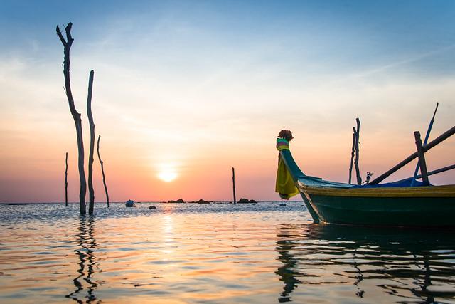 Sunset - Ko Lanta / Thailand