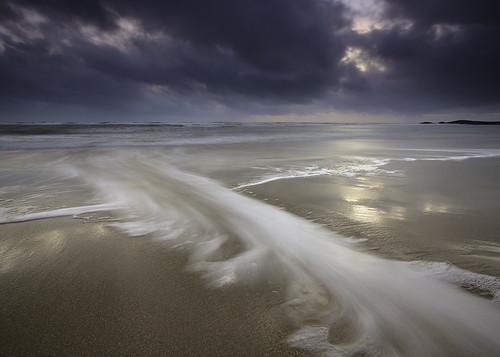 longexposure sunset cloud seascape storm beach wales landscape coast surf day waves shoreline cloudscape anglesey rhosneigr porthtyntywyn