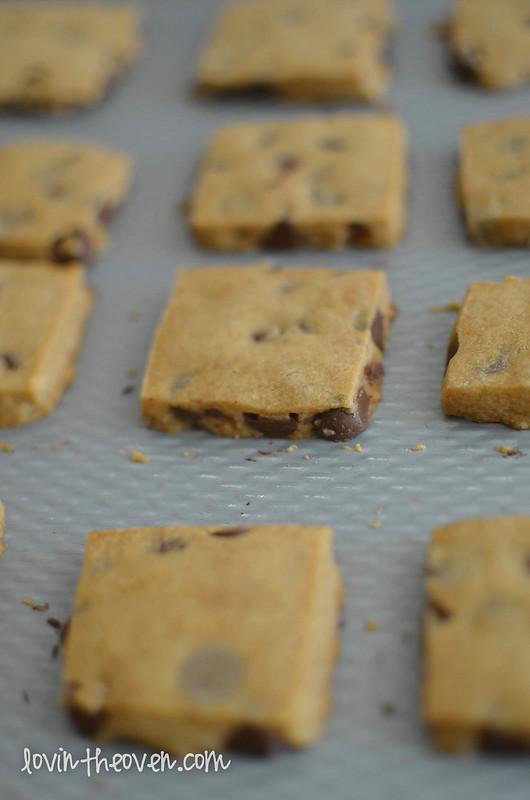 Espresso Chocolate Chip Shortbread Cookies - Lovin' From ...