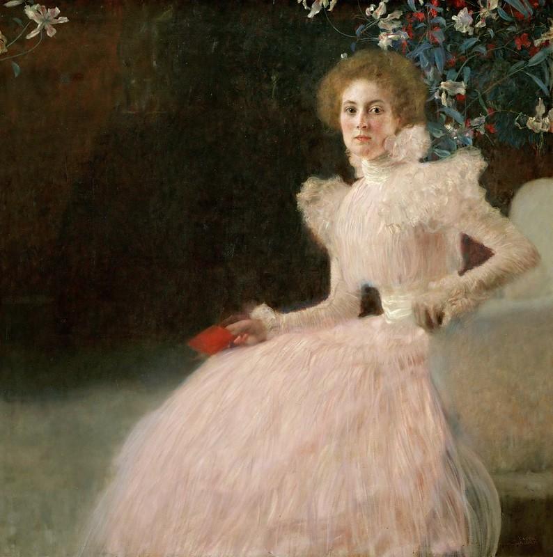 Gustav Klimt - Bildnis Sonja Knips (1898)