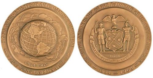 1964-65 World's Fair medal