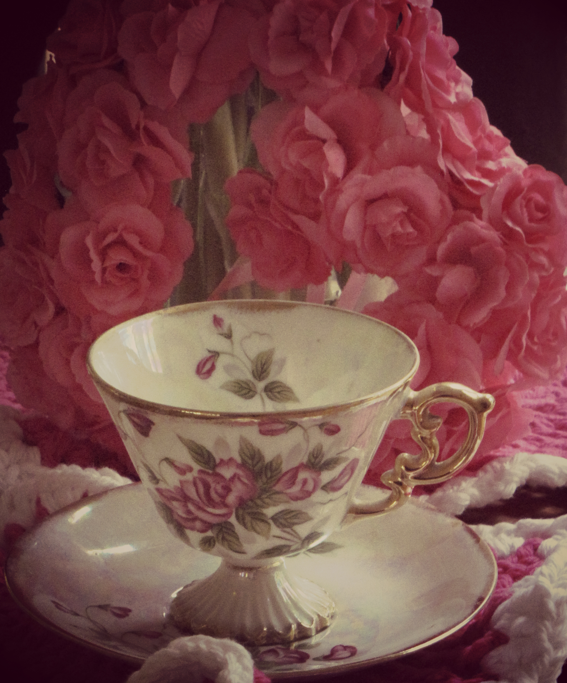 Sweet Pea Teacup