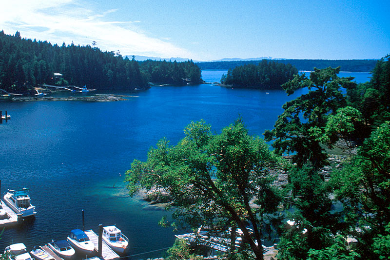 Secret Cove, Sechelt Peninsula, Sunshine Coast, British Columbia, Canada
