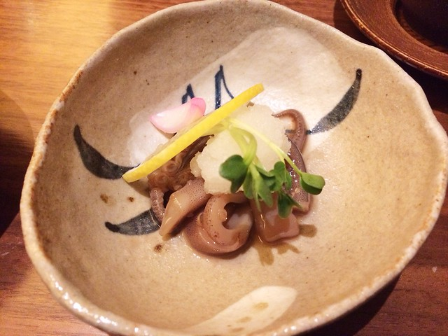Marinated Octopus, Keyaki, Pan Pacific Hotel