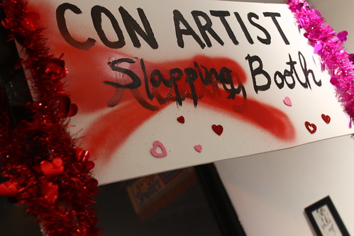 Con Artist Slapping Booth