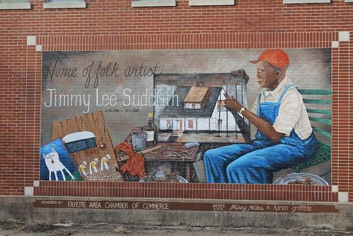 Mural, Fayette, Ala.