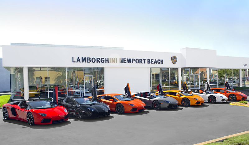An Army of Aventador's