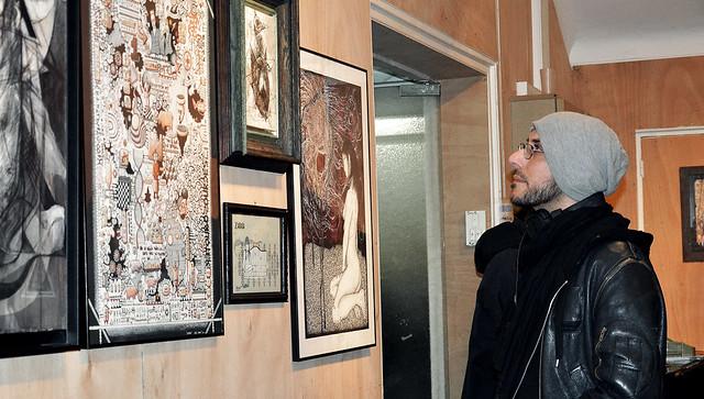 Exposition Zavata au Shakirail - Paris 2014