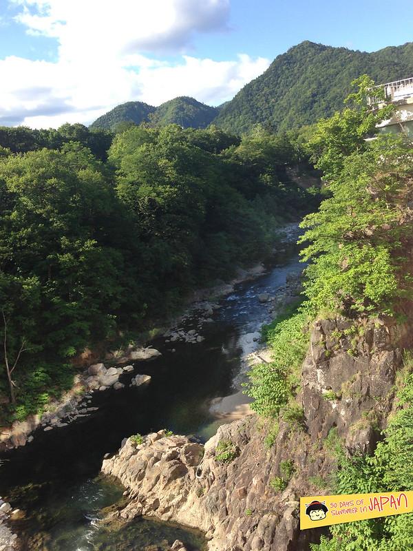 Hokkaido - Shogetsu Grand Hotel - hot spring - onsen park - gorge view