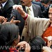 Sonia Gandhi interacts with students at Raebareli 01