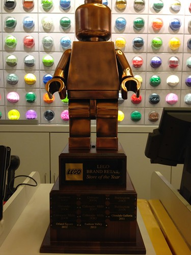LEGO Store Fashion Valley Named Brand Retail Store of the Year 2013 ...