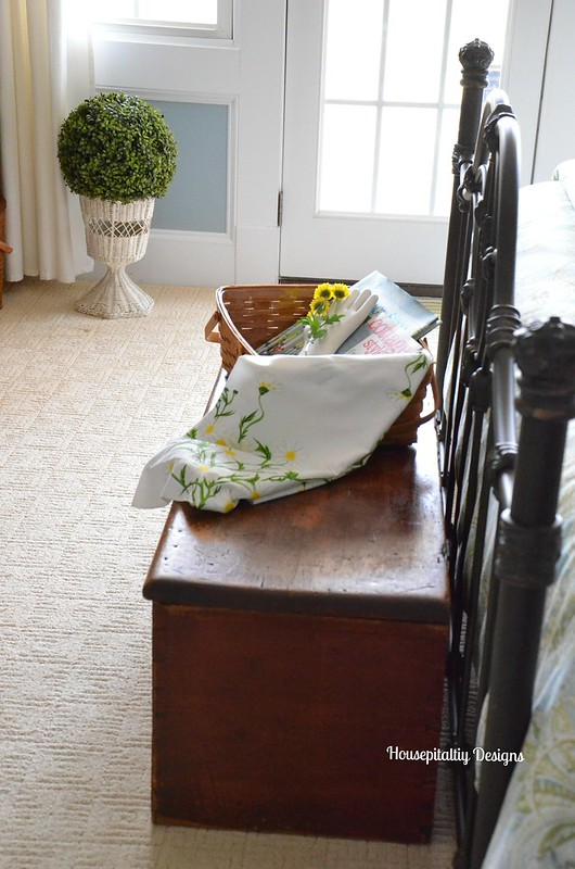 Guest Room Blanket Chest