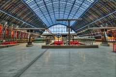 St Pancras Station, London, Eurostar