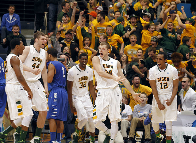 NDSU vs IPFW Men's Summit League Basketball Tournament