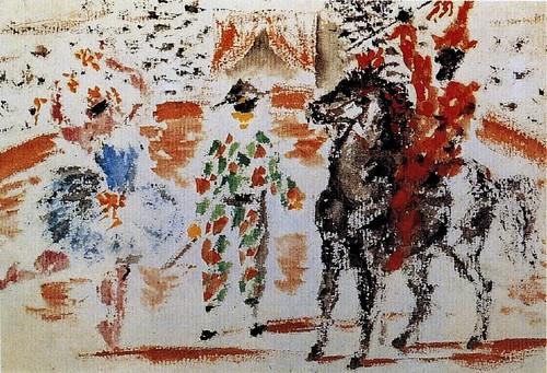 Pablo Picasso - 1918 Circus