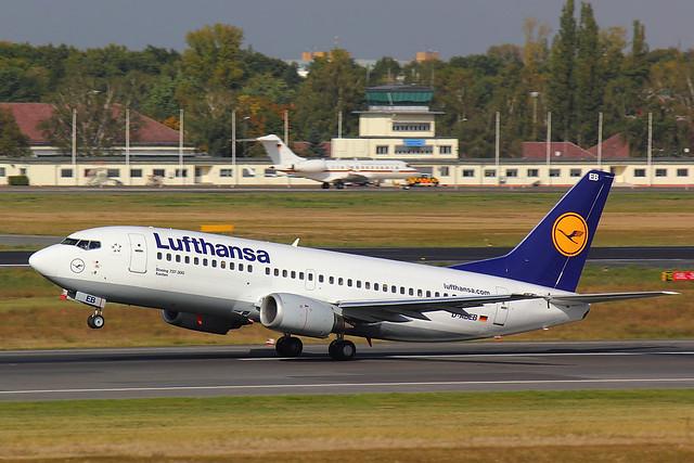 Lufthansa - B733 - D-ABEB (1)