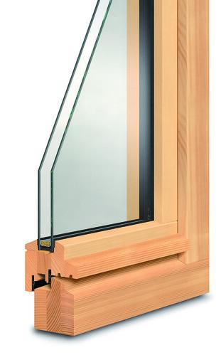Fenster aus Holz von Hier