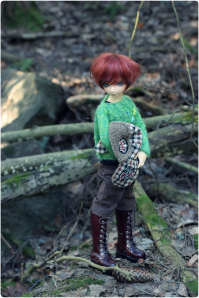 Forest boy