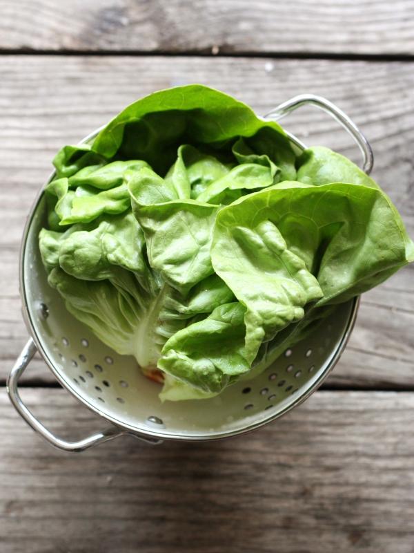 Spring Veggie Lettuce Wraps
