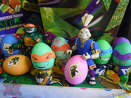 "Dudley's Easter :: Nickelodeon ""TEENAGE MUTANT NINJA TURTLES"" EASTER EGG DECORATING KIT xviii (( 2014 ))"