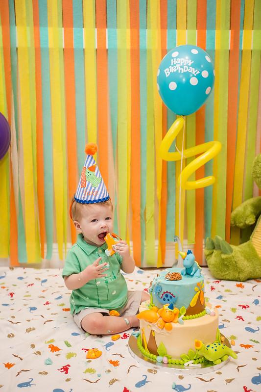 Austin Cake Smash First Birthday-0020
