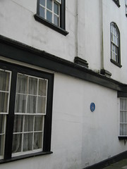 Photo of James Wolfe blue plaque