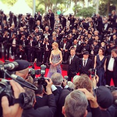 Here's #NicoleKidman, centre of attention in #Cannes tonight @gettyvip #GettyCannes