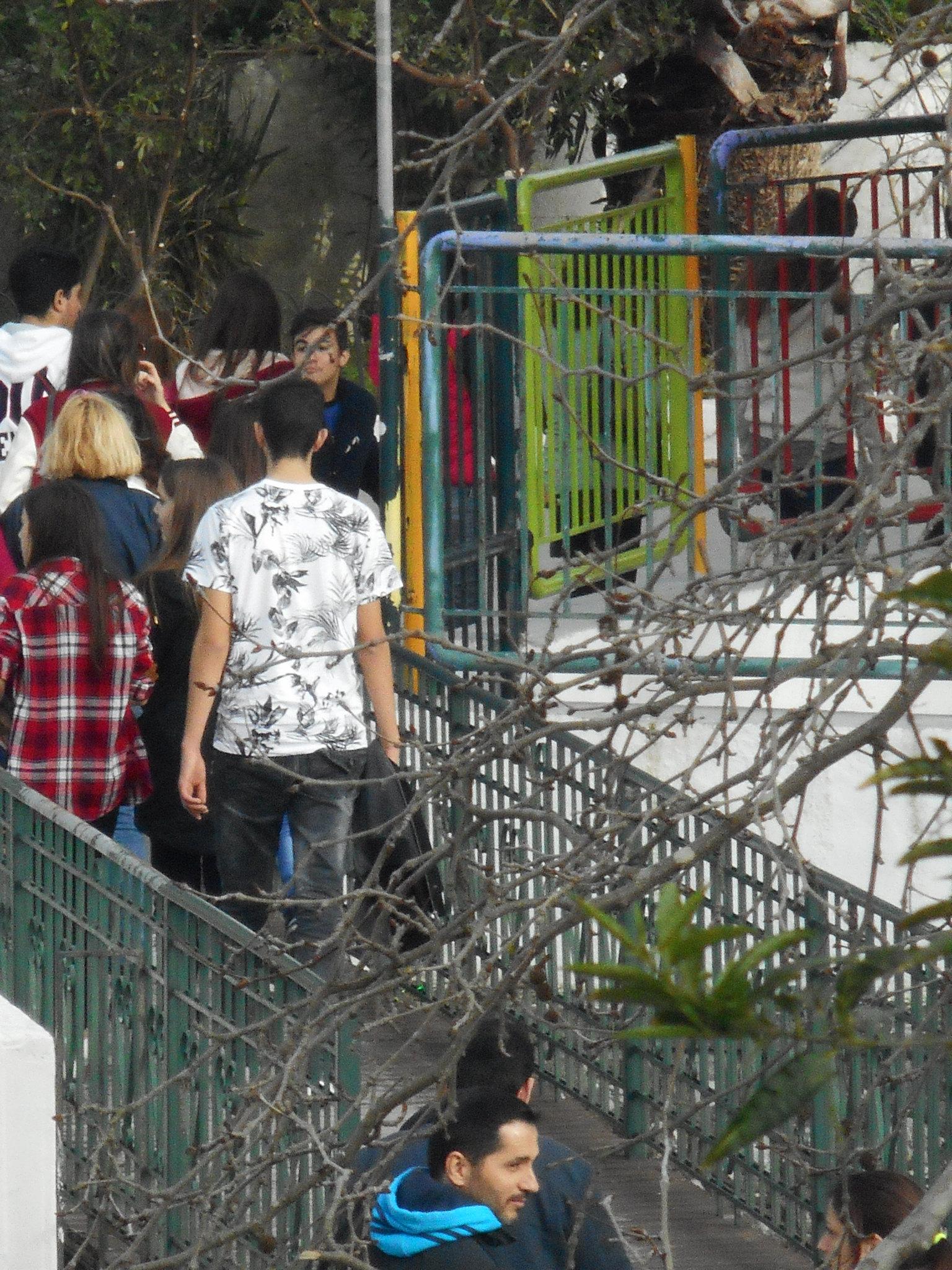 Η πρώτη εκδρομή μαθητών στη Ψίνθο το 2015
