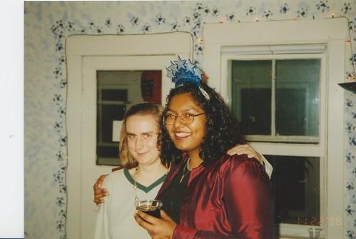 Rachel Mandal and Nell Robinson '99