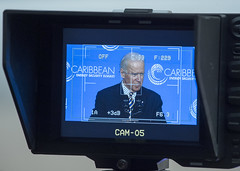 Vice President Joe Biden to deliver the keynote address at the Caribbean Energy Security Summit, at the U.S. Department of State in Washington, D.C., on January 26, 2015. [State Department photo/ Public Domain]