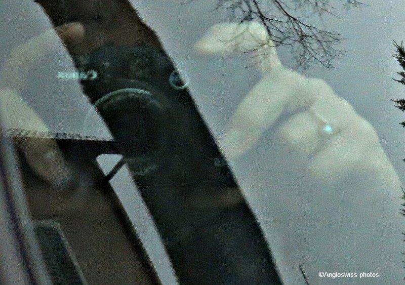 From a car side Window