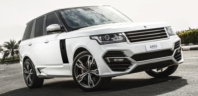 Ares Atelier Introduces Its Interpretation of the Range Rover Supercharged