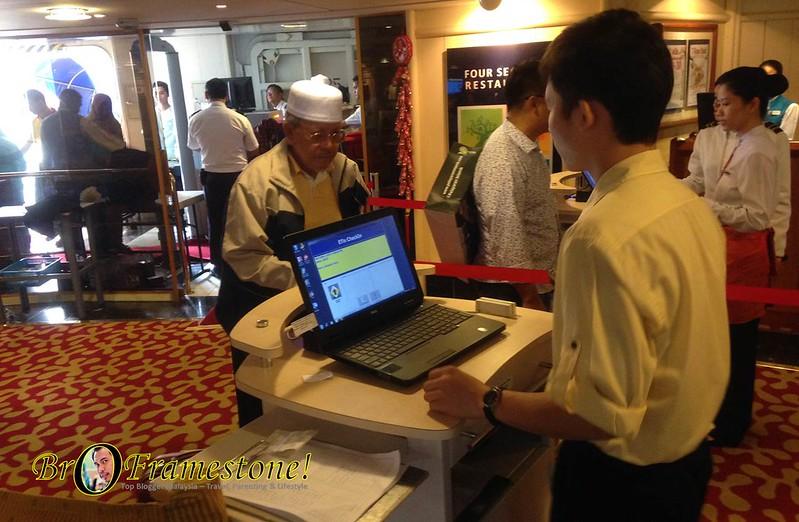 Check In Star Cruise Libra Pelayaran Islamik