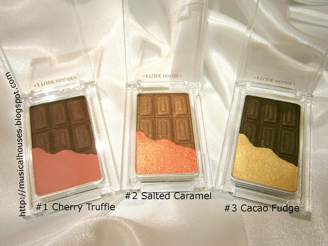 Etude House Give Me Chocolate Eyeshadow Duos