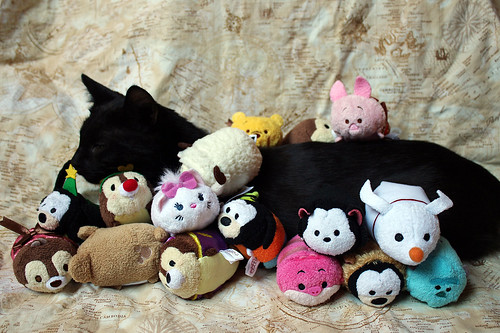 Loa loves Tsum Tsums