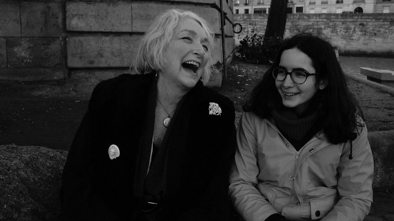 Jour de tournage Nº1. Maria Hermelin et Helen Tange